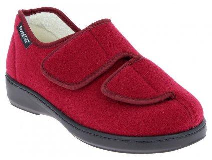 A-ATHOS zdravotní obuv dámská vínová PodoWell