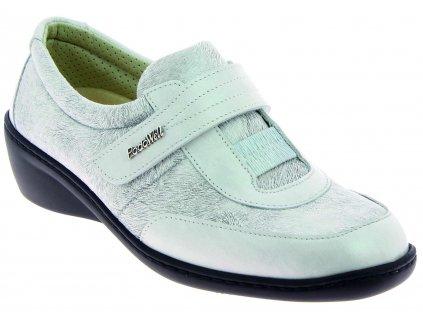 SYLVANIE obuv pro široké nohy perleťová OodoWell