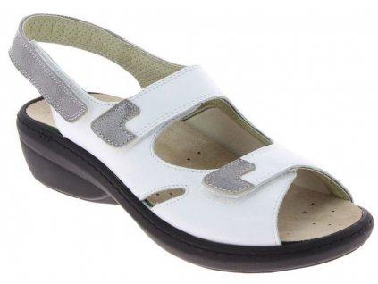 DAMIA halluxový sandálek dámský bílý PodoWell