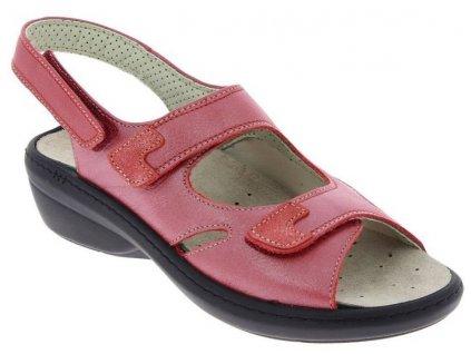 DINA halluxový sandálek dámský červený PodoWell