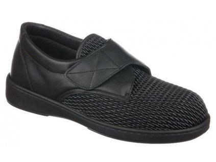 ALPES halluxová obuv unisex elastická ve špici černá PodoWell