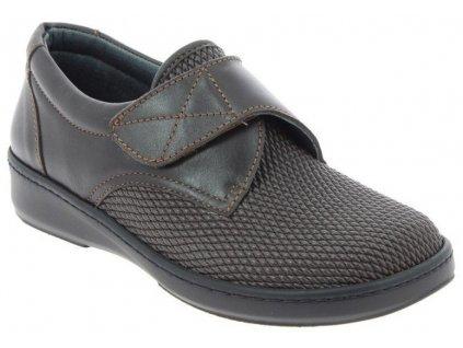 ALPES halluxová obuv unisex elastická ve špici hnědá PodoWell