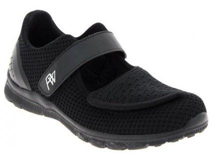 VADIM sportovní obuv s paměťovou stélkou černá PodoWell