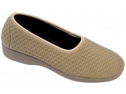 PISTACIO elastická obuv dámská béžová O6954 12 Nursing Care 3
