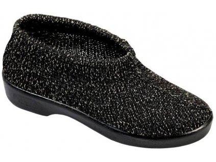 LIMA elastická obuv dámská melírovaná zlatočerná O1F45 Nursing Care 3