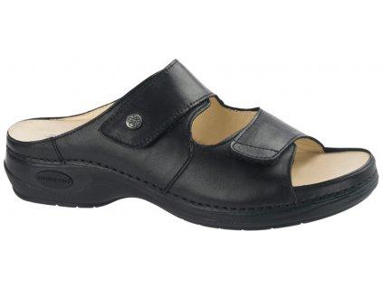 BRAZIL zdravotní pantofle dámská černá C811 Nursing Care