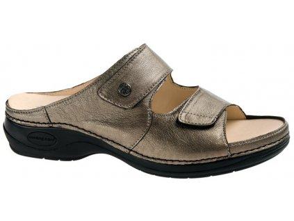 BRAZIL zdravotní pantofle dámská bronzová C814 Nursing Care