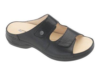 RECIFE zdravotní pantofle dámská černá C8G11 Nursing Care 1