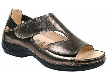 BERMUDA zdravotní sandálek dámský bronzový C3514 Nursing Care 3