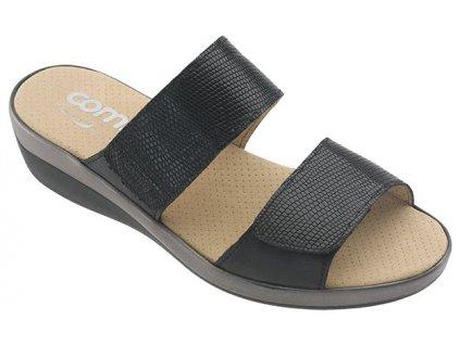 PALAU zdravotní pantofle dámská černá C22G11 Nursing Care 3