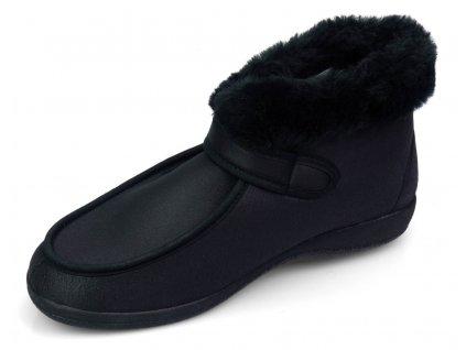 COCO zdravotní obuv dámská černá O6977-11 Nursing Care
