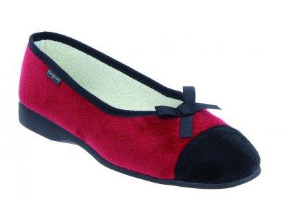NATIVE balerinka dámská červená PodoWell