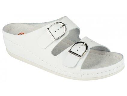 LUNEBURG 00742 100 zdravotní pantofle dámská bílá Berkemann 11