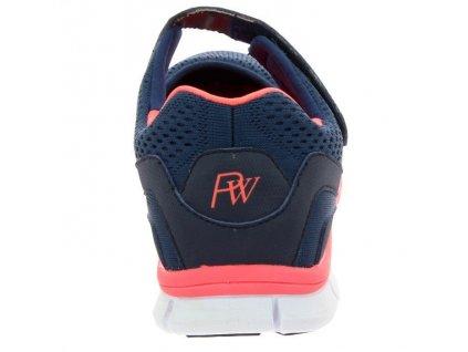 VAUCLUSE sportovní obuv s paměťovou stélkou dámská modrá PodoWell