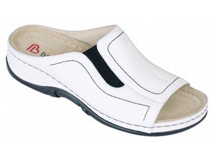 ISABELLA zdravotní pantofle dámská bílá Berkemann