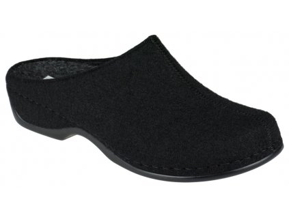 FLORINA domácí filcová obuv dámská černá Berkemann