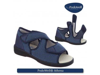 ATHENA zdravotní sandálek unisex modrá PodoWell(1)