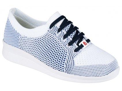 EILA elastická zdravotní obuv dámská bílomodrá Berkemann