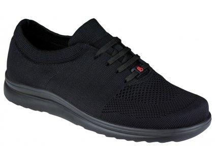 ALLEGRO elastická zdravotní obuv pánská černá Berkemann