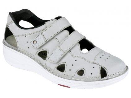 LARENA zdravotní sandálek dámský šedý Berkemann
