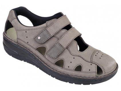 LARENA zdravotní sandálek dámský stone Berkemann