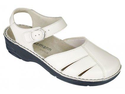 BIRTHE halluxový sandálek plná špice dámský béžový Berkemann