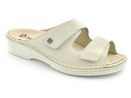GINA diabetická pantofle dámská béžová Berkemann