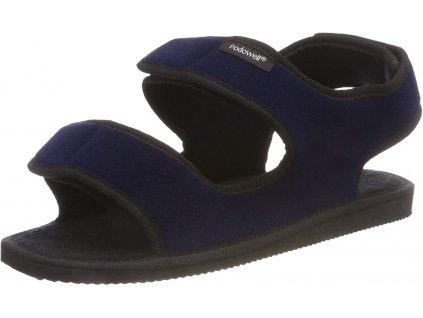 PODOSOLO sandálek 1 kus XXL textilní pro oteklé nohy modrá PodoWell zdravotní 1