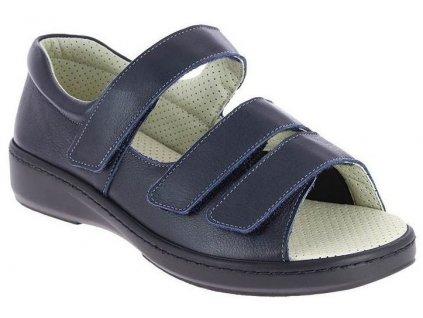 ALBAN zdravotní sandál unisex modrý PodoWell
