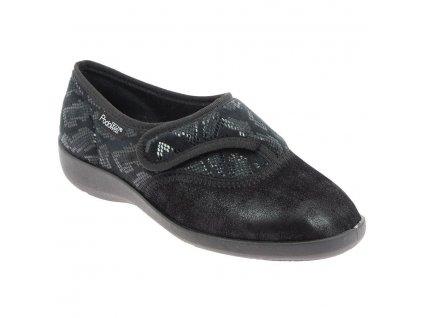 TALENT strečová obuv dámská černá PodoWell zdravotní 1
