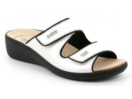 ESTA CE0186 dámská pantofle bílá Grunland 1