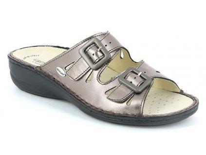 DARA CE0569 dámské pantofle cínová Grunland 1