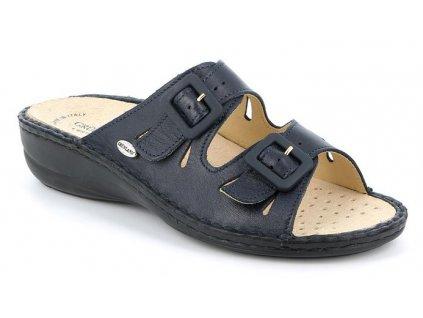 DARA CE0569 dámské pantofle modrá Grunland 1