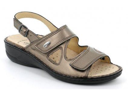 DARA SE0401 dámský sandálek olověný Grunland 1