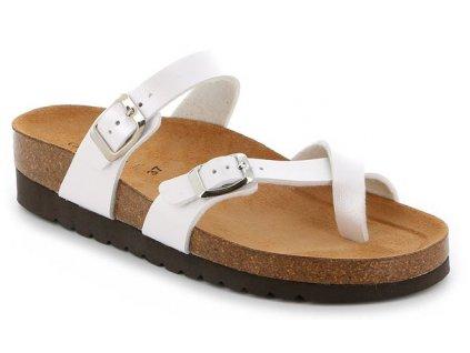 HOLA CB2438 dámská pantofle bílá Grunland 1