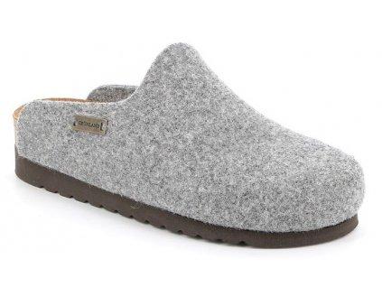 HOLA CB2517 dámská domácí filcová pantofle šedá Grunland 1