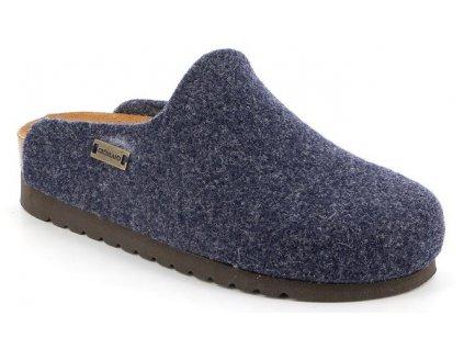 HOLA CB2517 dámská domácí filcová pantofle modrá Grunland 1