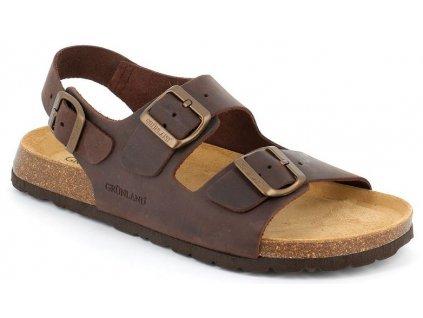 BOBO SB0396 pánské sandály mohanové Grunland 1