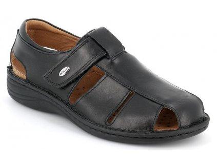 LINO SE0015 pánský sandál černý Grunland 1