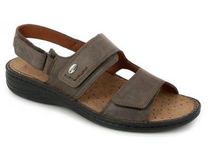 LINO SE0066 pánský sandál hnědý Grunland 1