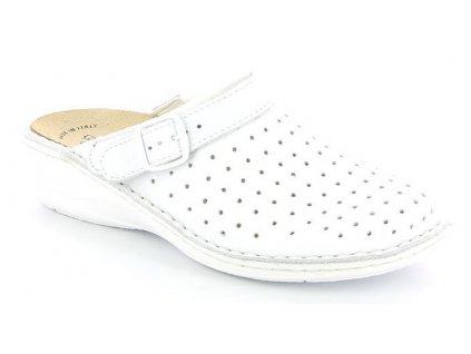 DARA CE0098 dámská pracovní obuv bílá s páskem Grunland 1
