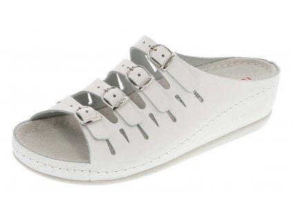 HASSEL zdravotní pantofle dámská bílá Berkemann 1