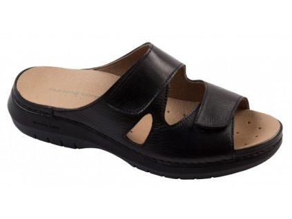 CRAVO C5711 pantofle dámská černá Nursing Care 1