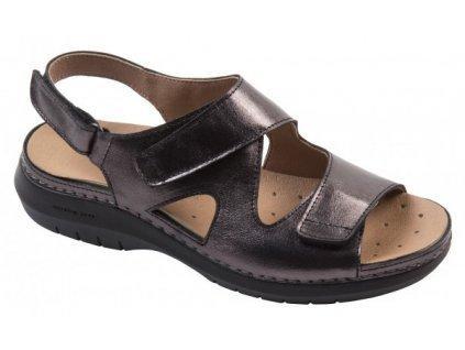CAMÉLIA C5623 sandálek dámský olověná Nursing Care 1