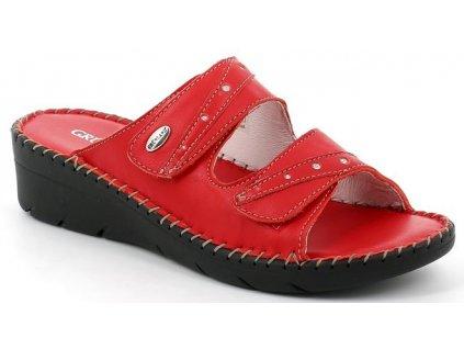 BICO CI2908 dámská pantofle červená Grunland 1