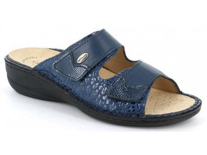 DARA CE0671 dámské pantofle modrá Grunland 1