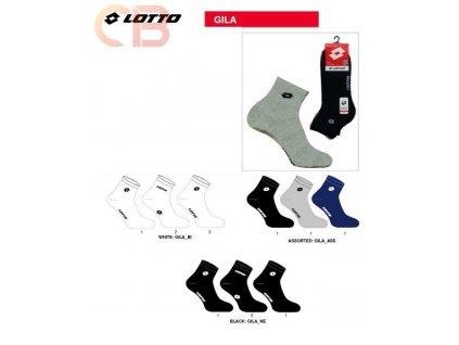 GILA ponožky krátké unisex LOTTO