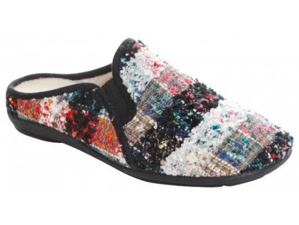 BRUMAN BR3116B dámské domácí pantofle vícebarevné FLD