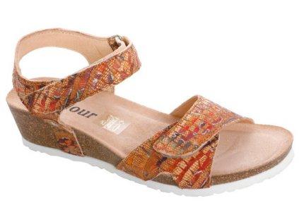 ADOUR AD2284 dámský sandálek víceberavný FLD