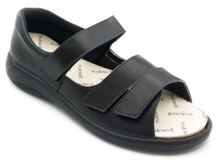 ALFRED sandálek černý univerzální PodoWell 1